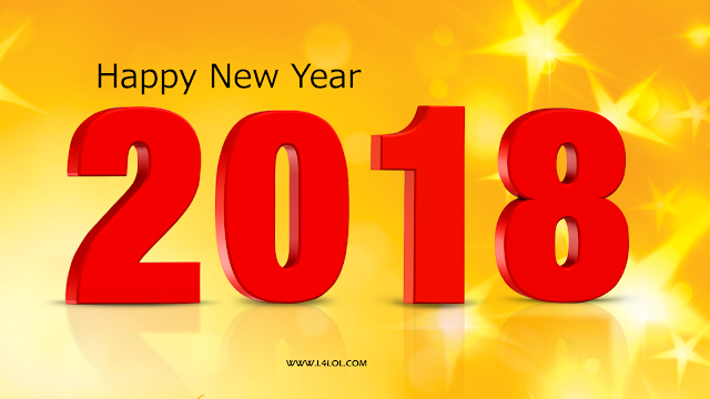 2k18 Happy new year vector banner images pictures photos free download