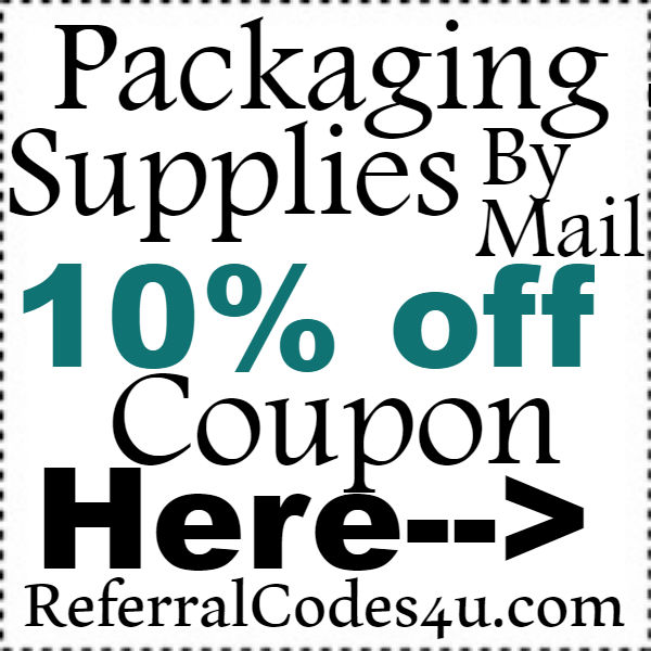 Packaging Supplies by mail Discount Code 2016-2017, PackagingSuppliesbymail Coupon October, November, December