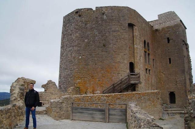 castillo de queribus torre homenaje