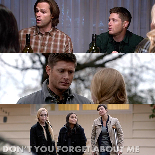 "Supernatural 11x12 ""Don't You Forget About Me"""