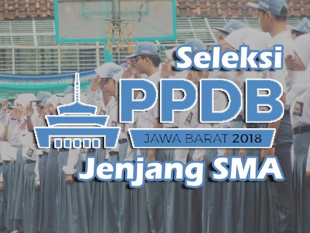 Prosedur Seleksi PPDB Jawa Barat 2018 Jenjang SMA