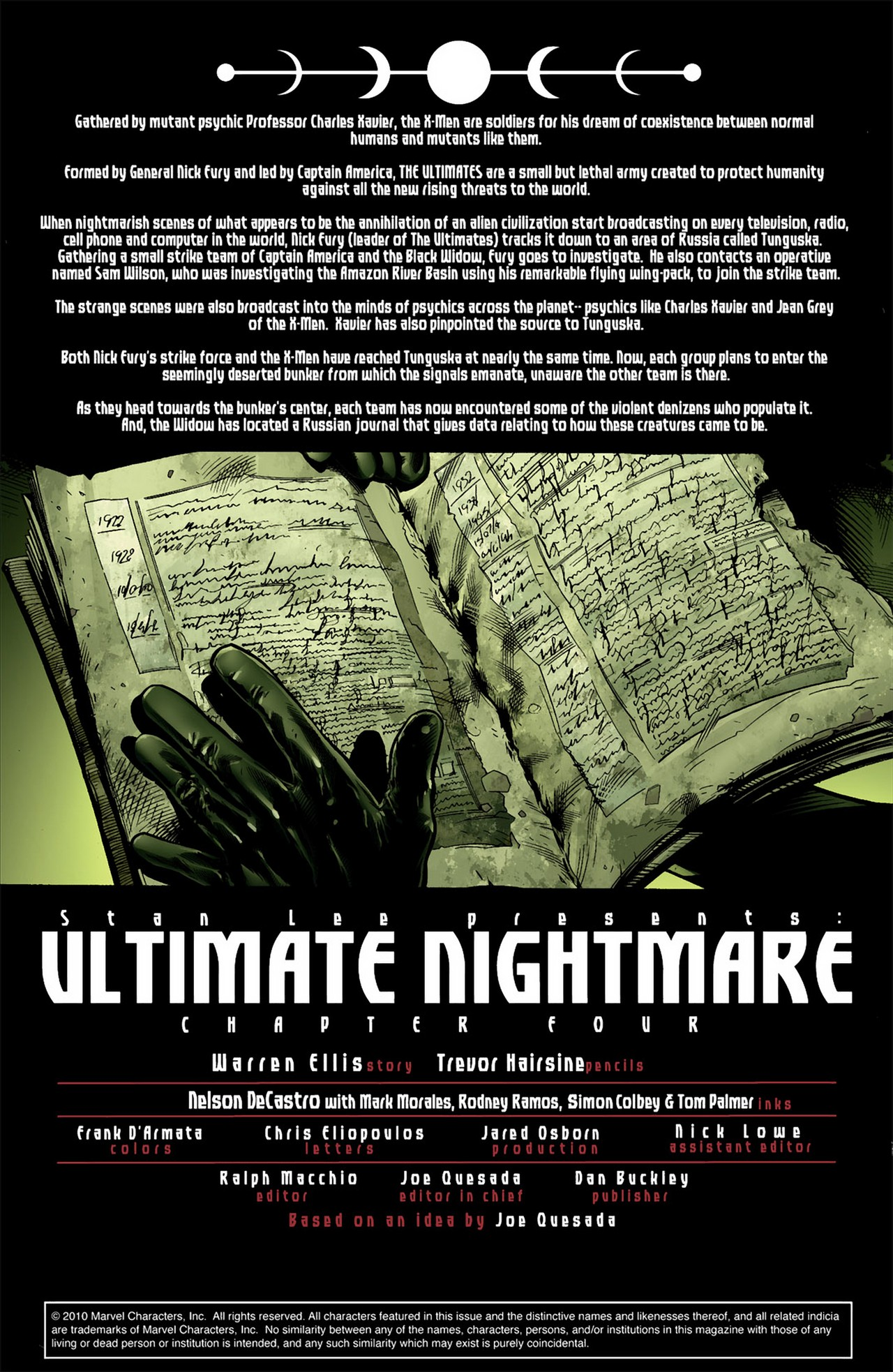 Read online Ultimate Nightmare comic -  Issue #4 - 2