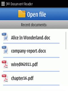 Free download eZReader MS Word Excel Power Point Reader java