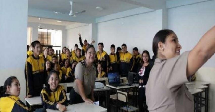 Promueven proyecto para erradicar el sexting en colegios de Trujillo
