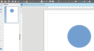 LibreOffice Draw - Puntos o pivotes de control