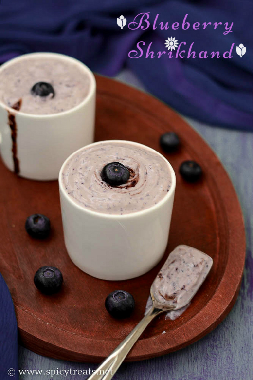 Shirkhand(With Blueberries)