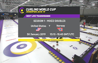 Curling World Cup Biss Key Eutelsat 7A/7B 30 January 2019