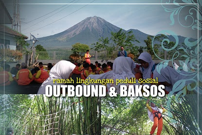 Serunya Outbound dan Baksos Gunung Sawur dan Hutan Bambu