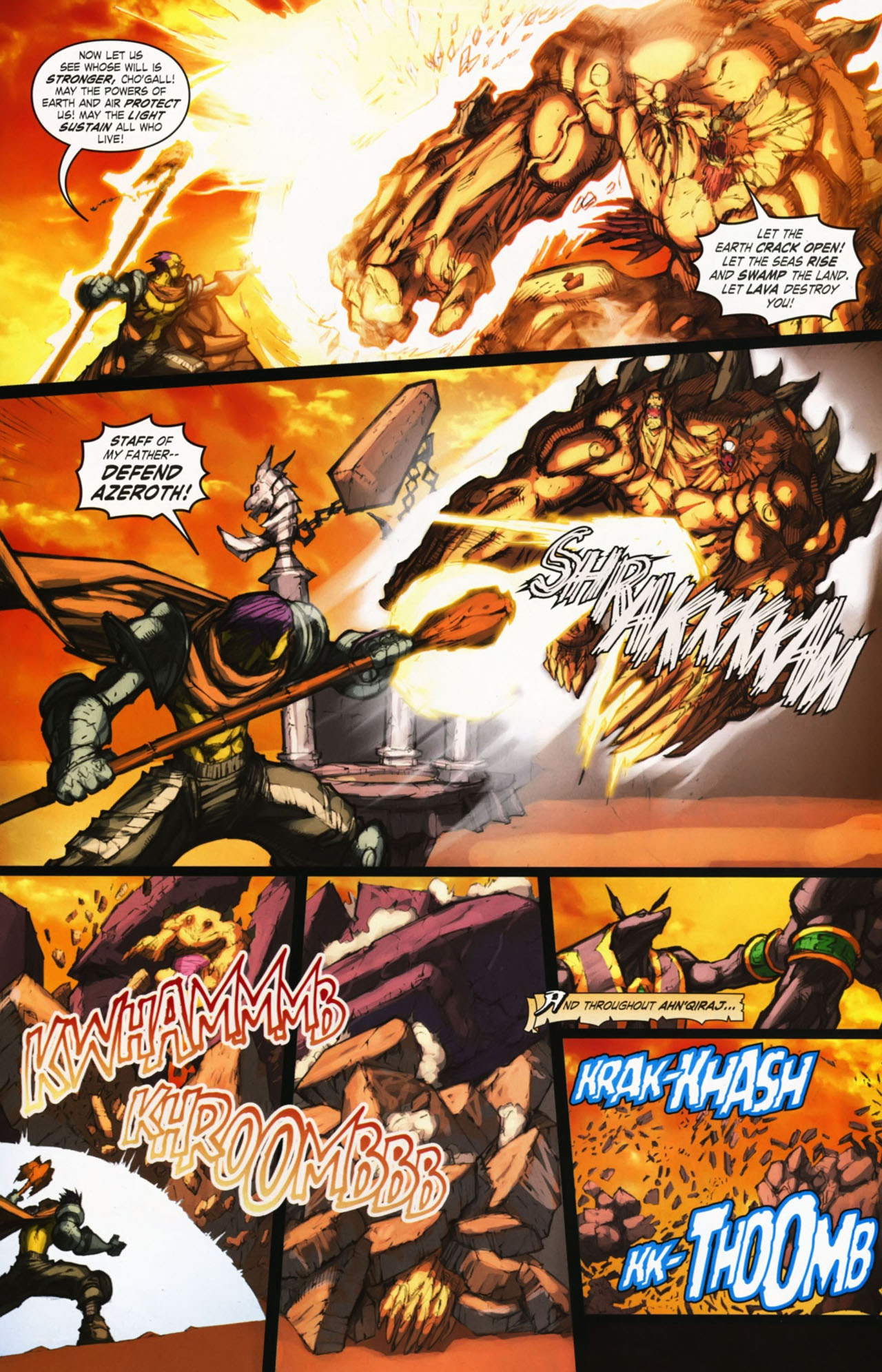 Read online World of Warcraft comic -  Issue #25 - 36