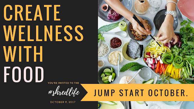 Jump Start October Wellness Program I Shred Life I Paleo Vegeo