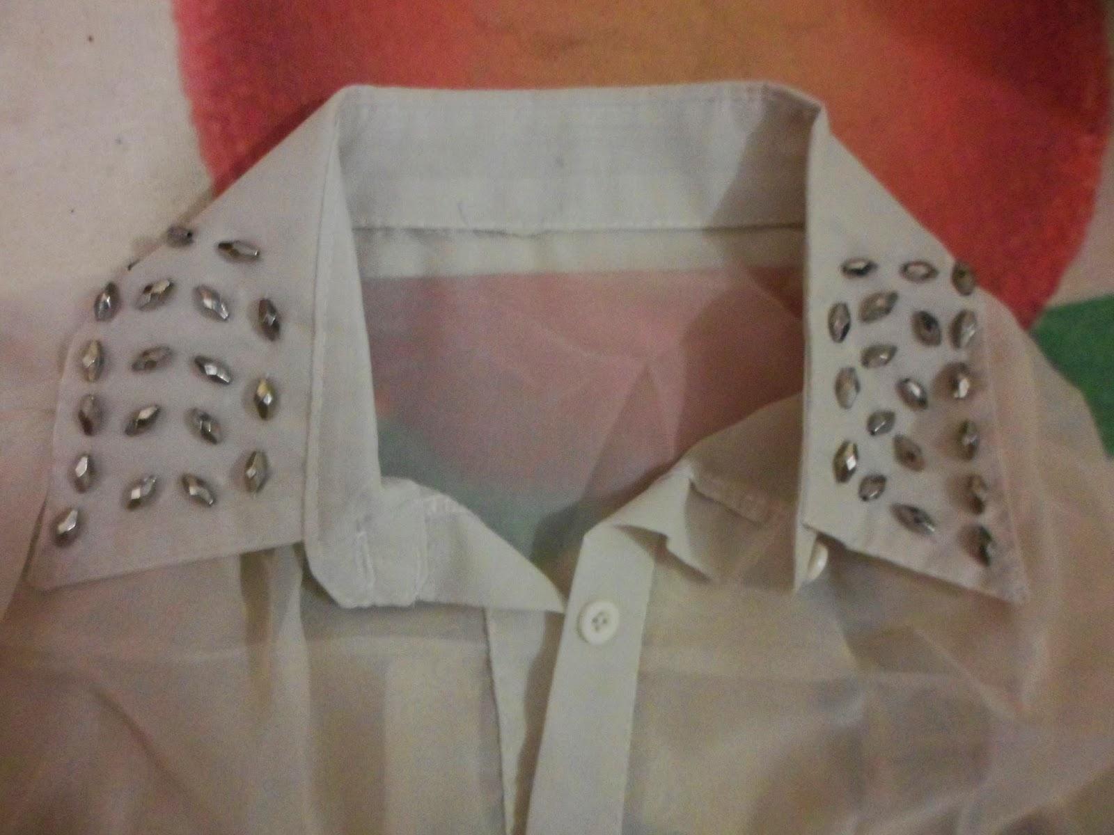 camisa sem mangas