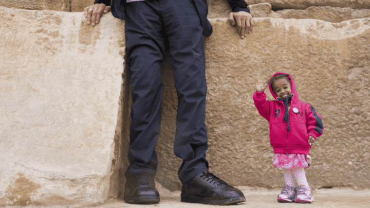 tallest man and the smallest woman in the world