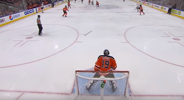 Darnell Nurse penalized for tossing stick to own goalie 2/6/2020