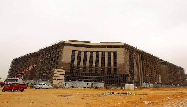 مبني وزارة العدل فى الحى الحكومى بالعاصمة الإدارية الجديدة