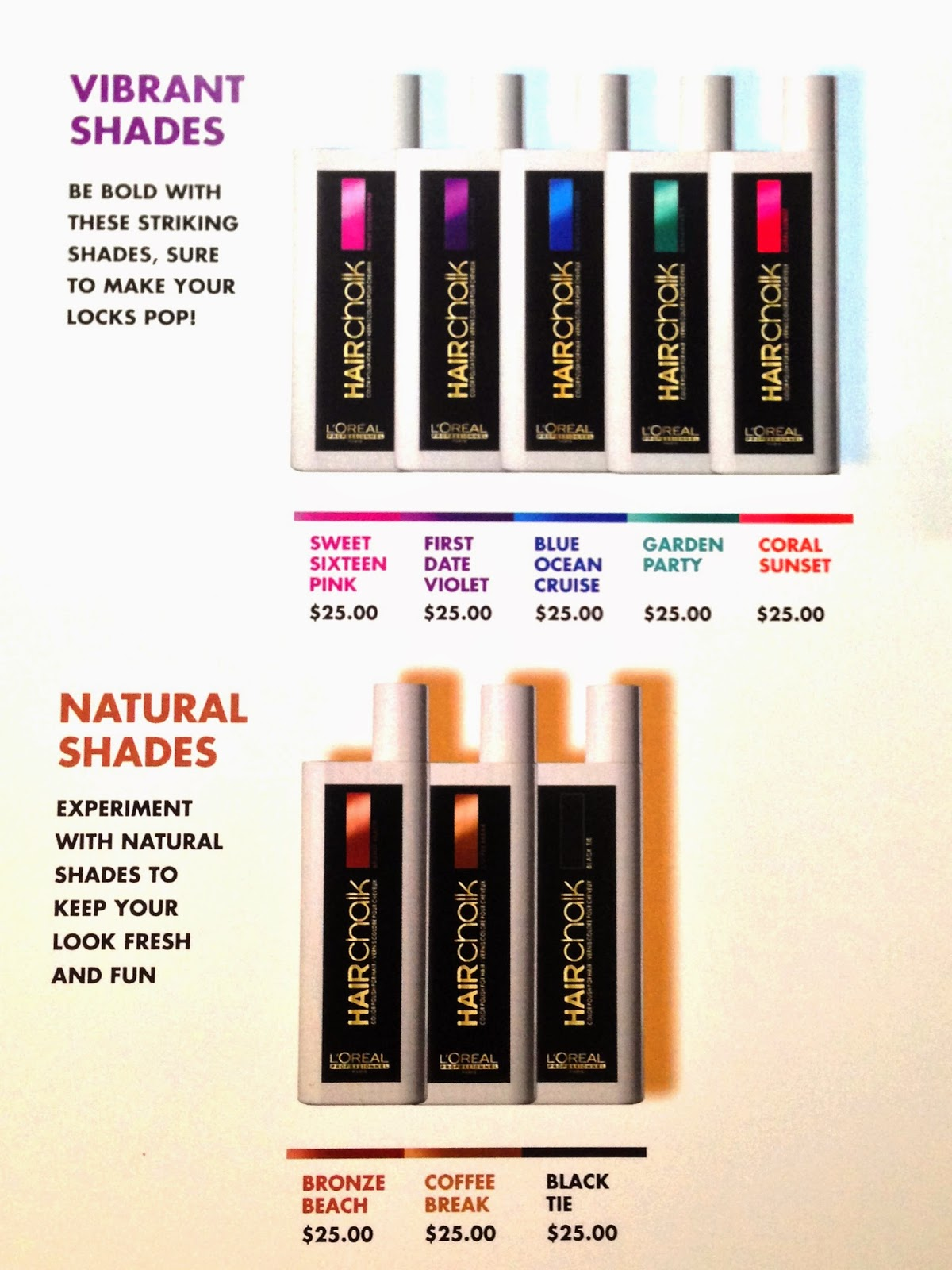 Review L Oréal Professionnel Hairchalk