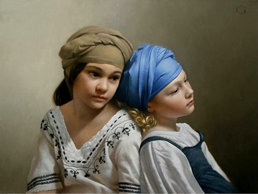 Ben noto David Gray, 1970 | Classical Realist painter | Tutt'Art@ | Pittura  AI86