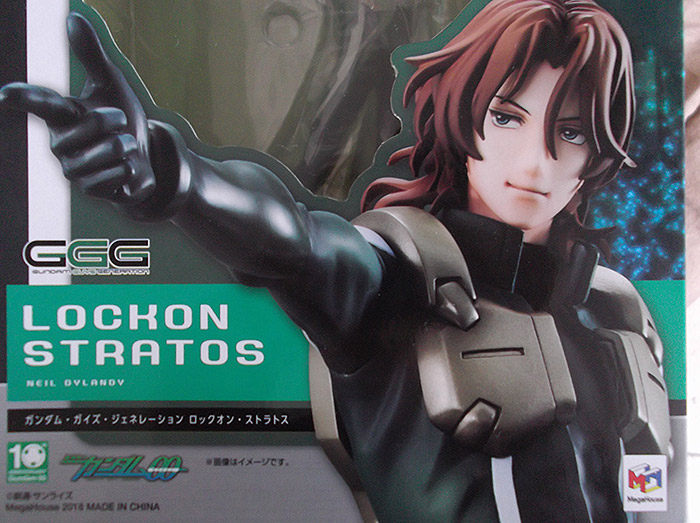 "Recensione di ""Gundam Guys Generation: Lockon Stratos (Neil Dylandy)"" 1/8 Figure∼"
