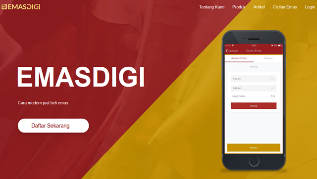 Cara Daftar Akun EmasDigi Untuk Investasi Emas Online