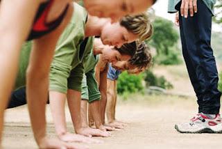 Ideas de negocios rentables: Campamento militar para perder peso