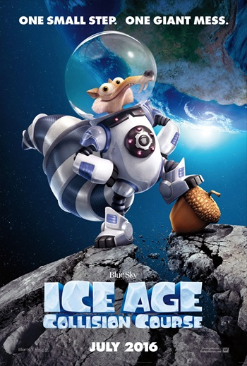 Free Download Ice Age Collision Course 2016 Dual Audio Hindi   300mb