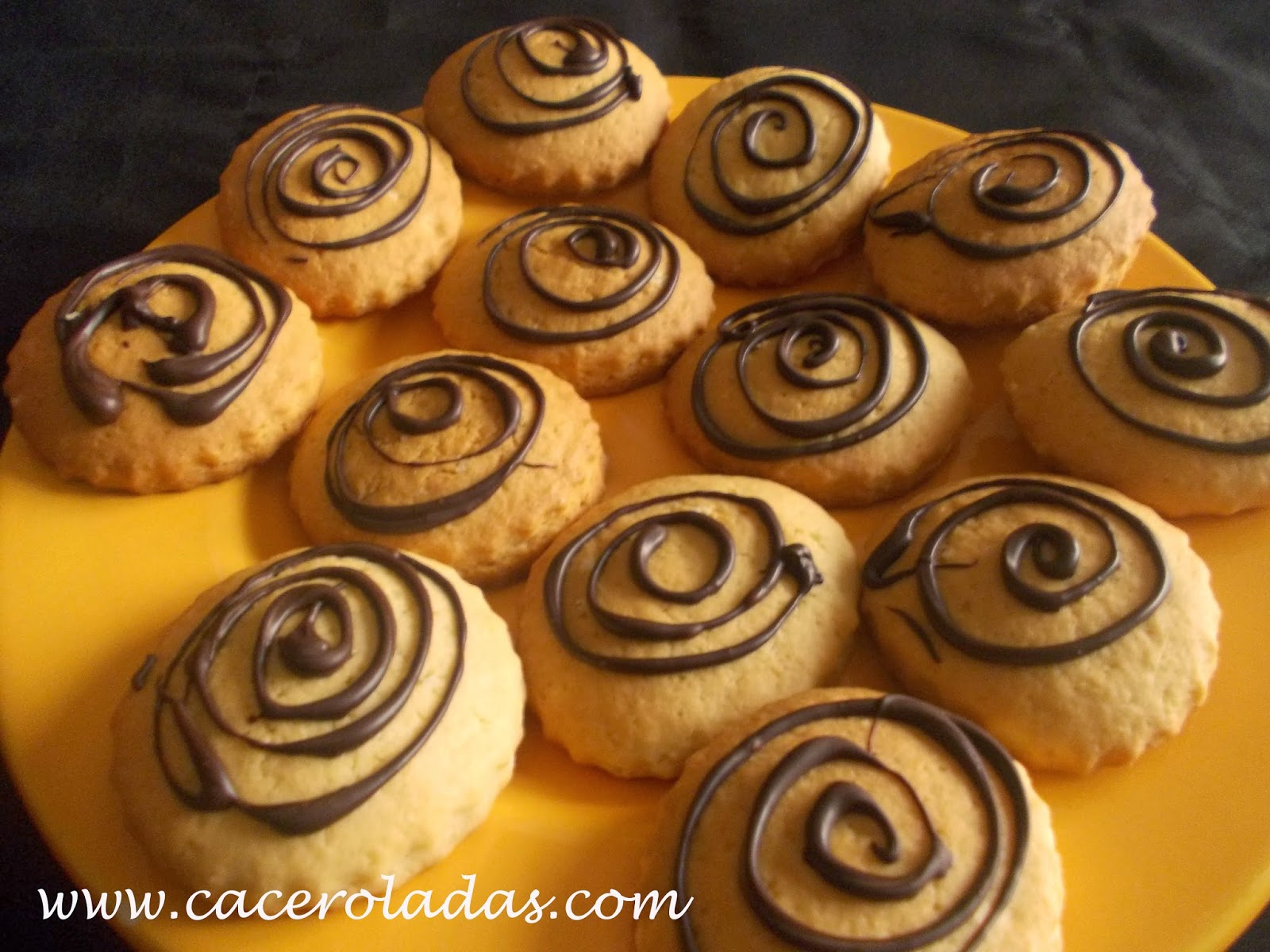Galletas caseras con chocolate