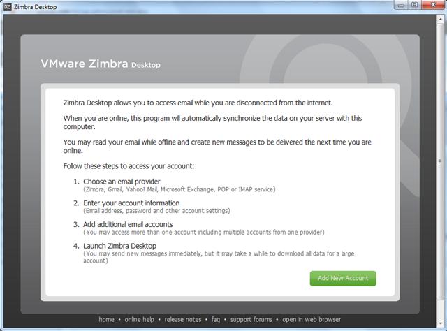 Cara Setting Akun Email Hosting Pakai Aplikasi Zimbra Dekstop