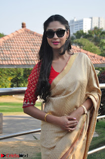 Angana Roy in Silk Saree at Teaching Tree Carnival .xyz 021.JPG
