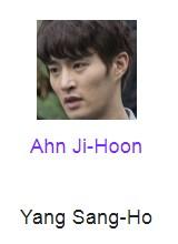 Ahn Ji-Hoon pemeran Yang Sang-Ho