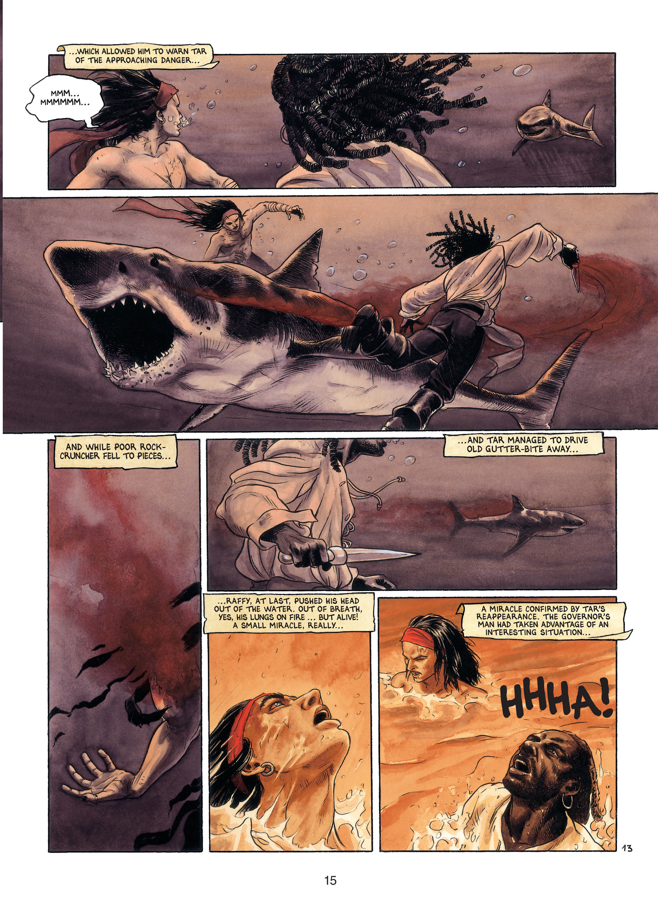 Read online Barracuda comic -  Issue #4 - 16