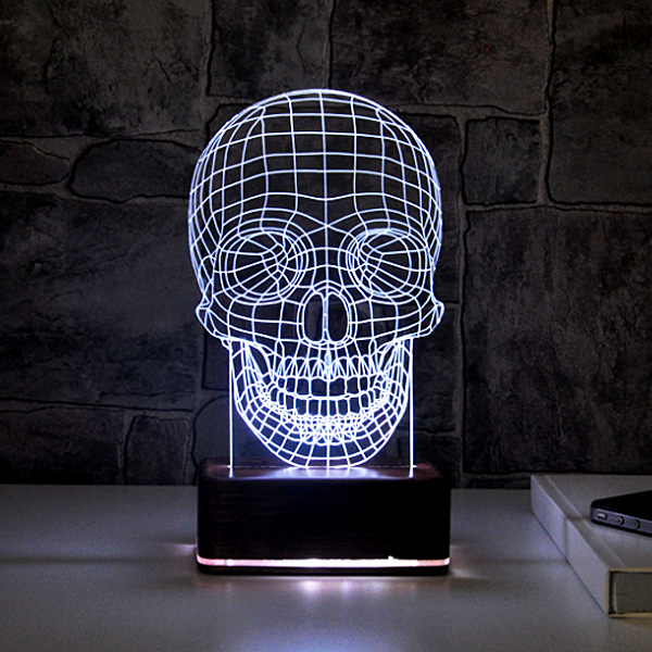 3D Led Lamba