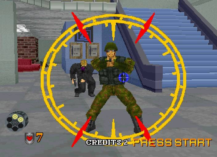 Virtual Cop 2 Game Download