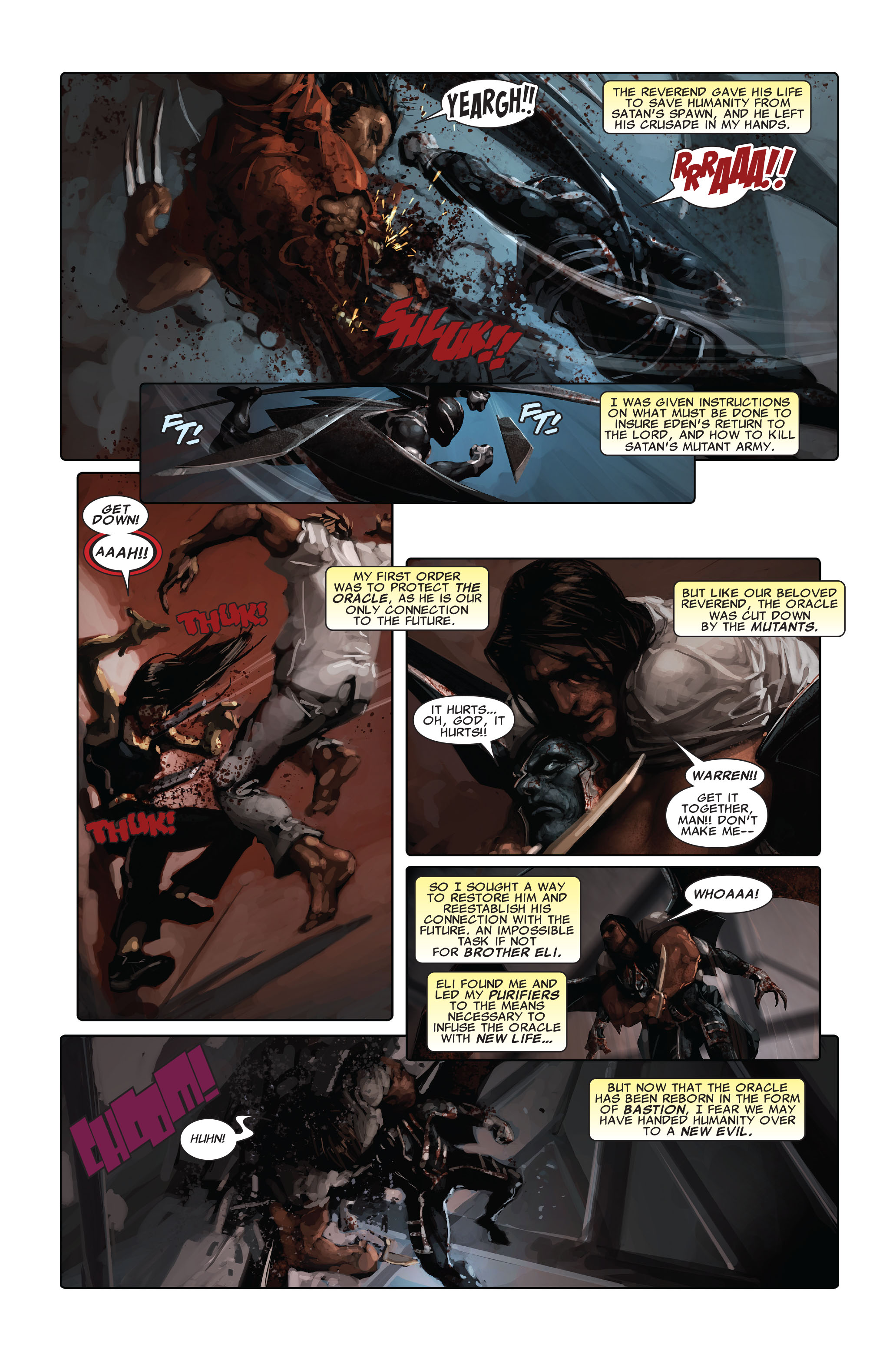 Read online X-Force (2008) comic -  Issue #5 - 4