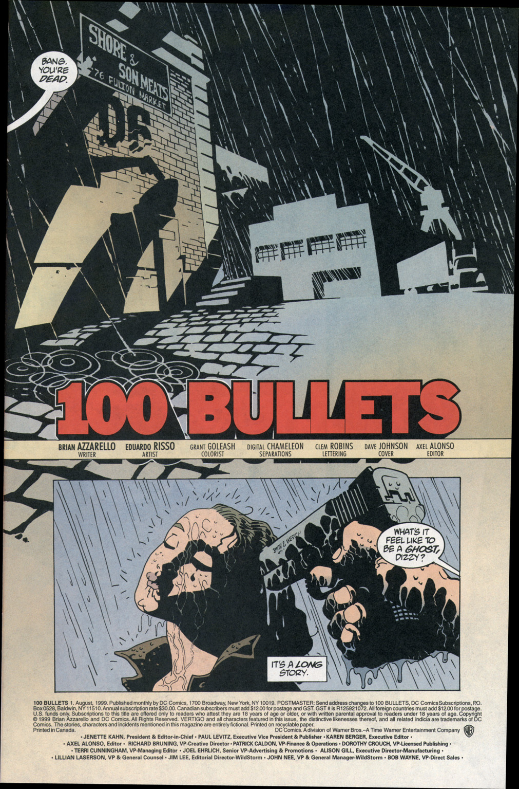 100 Bullets 1 Page 2