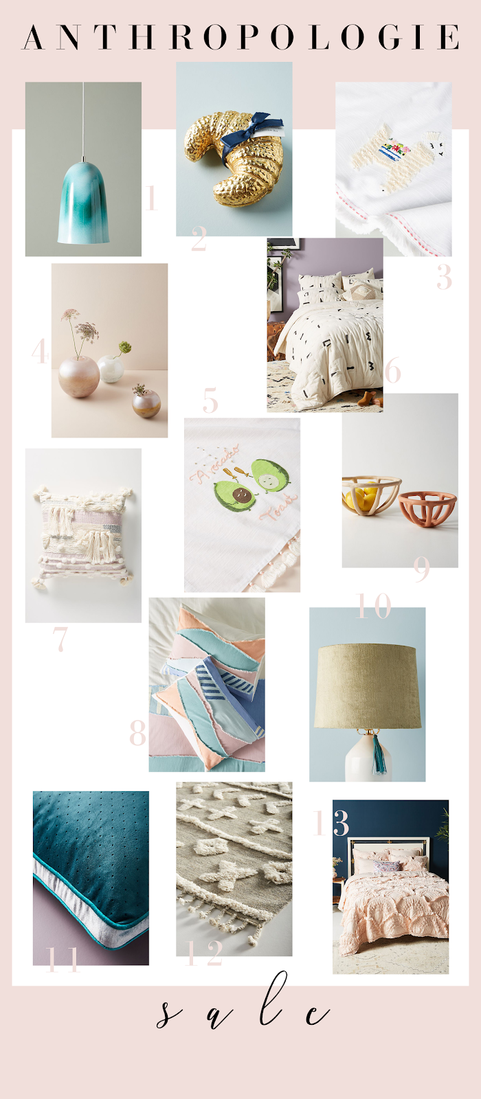 13 gorgeous home items you should get from Anthropologie's SALE