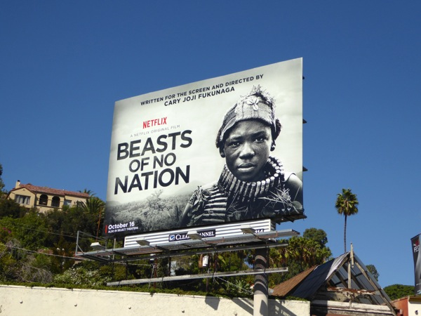 Beasts of no Nation movie billboard