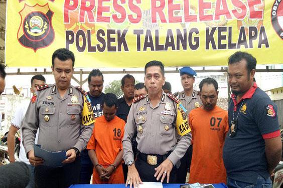 3 Pembobol Brankas di Banyuasin Telah Berhasil Diringkus Kepolisian