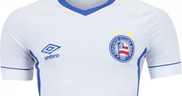Umbro lança a nova camisa titular do Bahia - Show de Camisas 4fbc347ca8348