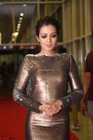 Actress Catherine Tresa in Golden Skin Tight Backless Gown at Gautam Nanda music launchi ~ Exclusive Celebrities Galleries 085.JPG