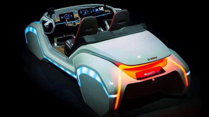 konsept elektrikli  araba resimleri