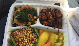 Azla vegan food in Los Angeles, Ca -- photo by Selena Thinking Out Loud