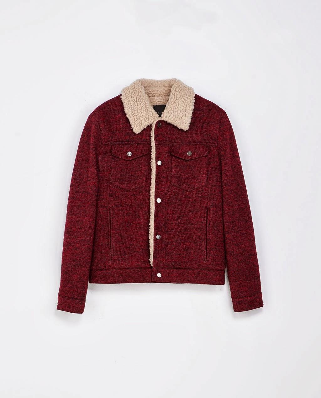 6 Moda Zara Jackets 2014 For Men Fleece Jacket