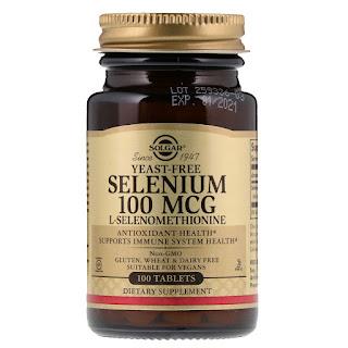 افضل انواع حبوب السيلينيوم من آي هيرب