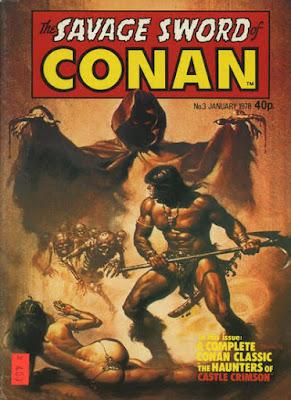 Marvel UK, Savage Sword of Conan #3, Boris Vallejo