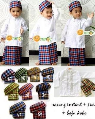 Macam Model Baju Muslim Anak Laki - Laki Terbaru
