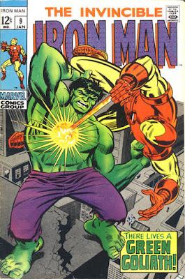 Iron Man #9, the Hulk
