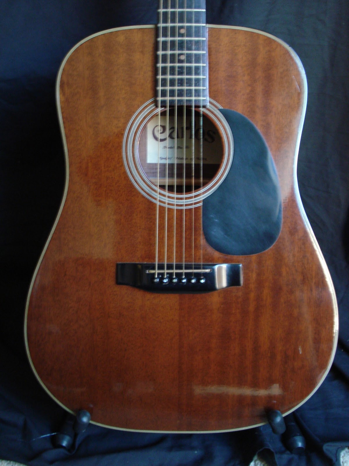 249 Best Images About Mens Fashion On Pinterest: SoCal Gear Museum: 1982 Carlos Model No. 249 Acoustic Guitar