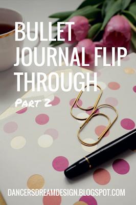 Bullet Journal Flip-Through Part 2