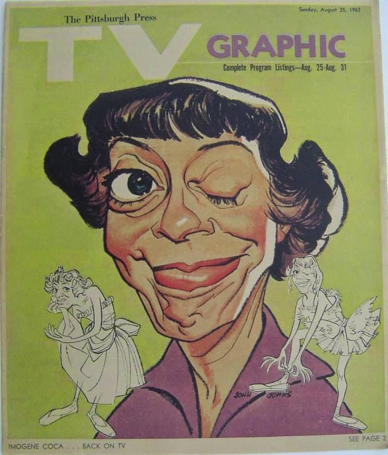 Ed Carney Ford >> D R E W • F R I E D M A N: The Caricature Art of John Johns