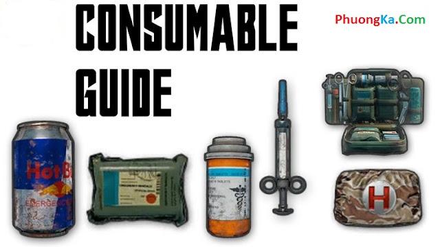 PUBG PC: Cách sử dụng vật phẩm hồi máu hiệu quả nhất