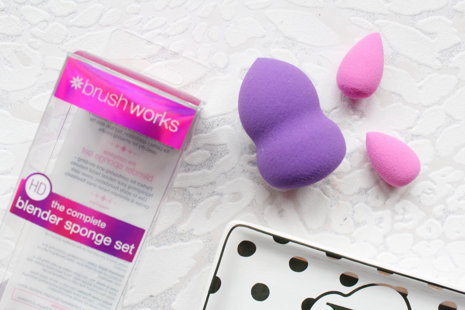 brushworks HD Complete Blender Sponge Se